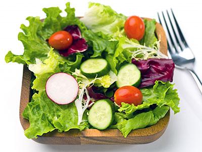 Полезные свойства салатов