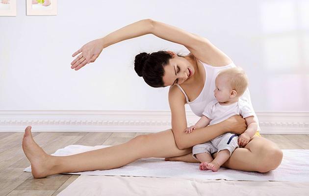 Упражнения в послеродовой период