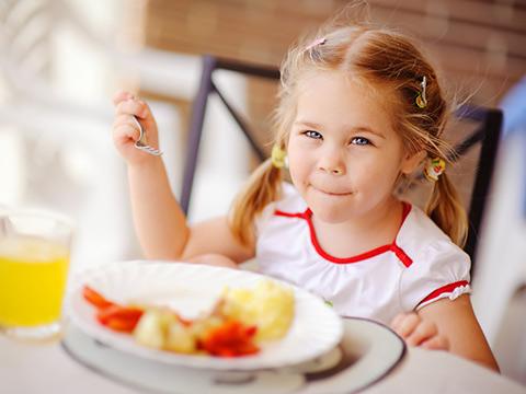 Питание детей-дошкольников