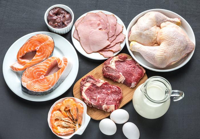 Витамин B12 в продуктах