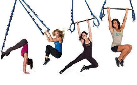 Необычные виды фитнеса - фитнес на трапеции